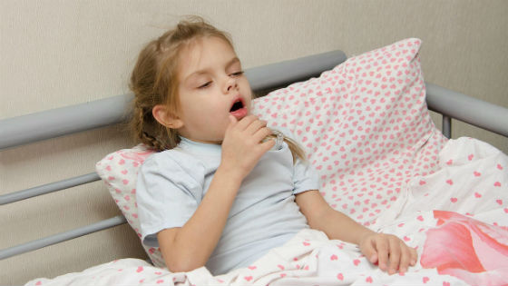 Cough as a symptom of adenovirus