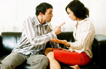 Quarrels with her husband, reasons for avoiding, reconciliation