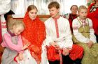 Wedding ceremony of the bride, Russian traditions